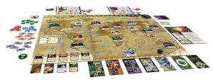 Eldritch Horror, componentes