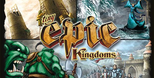 Caja de Tiny Epic Kingdom