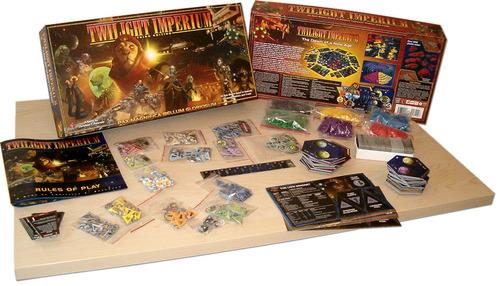 Componentes de Twilight Imperium