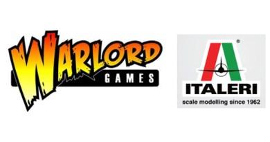 >Logotipos de Warlord Games e Italieri