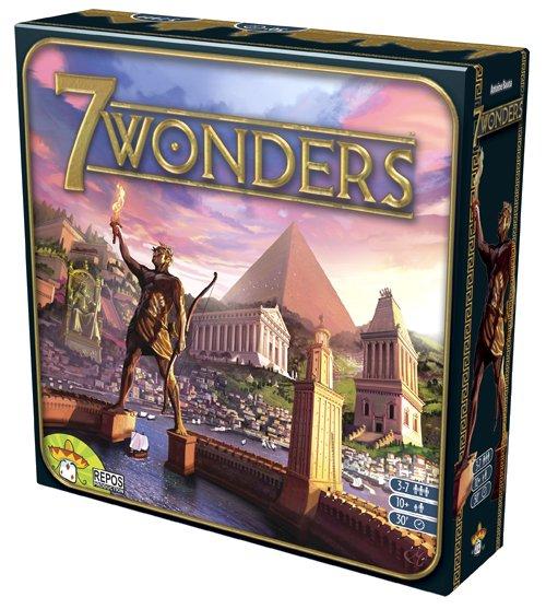 Juego 7 Wonders de Asmodee