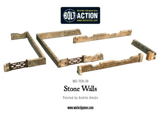 Muros de piedra de Bolt Action
