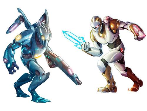 nuevos agentes de la expansión para galaxy defenders