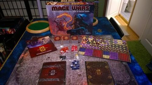 Componentes de Mage Wars