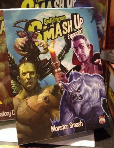 portada de smash up monster smash