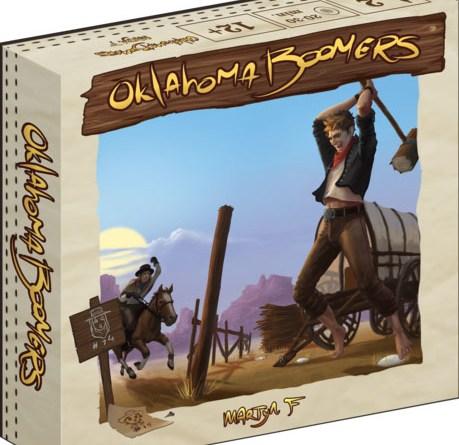 Portada de Oklahoma Boomers