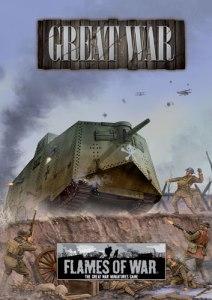 Flames of War, Great War portada hojas de ejército
