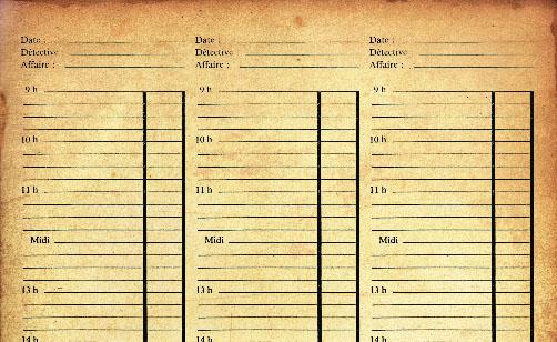 Timetable de Sherlock Holmes Queen's Park