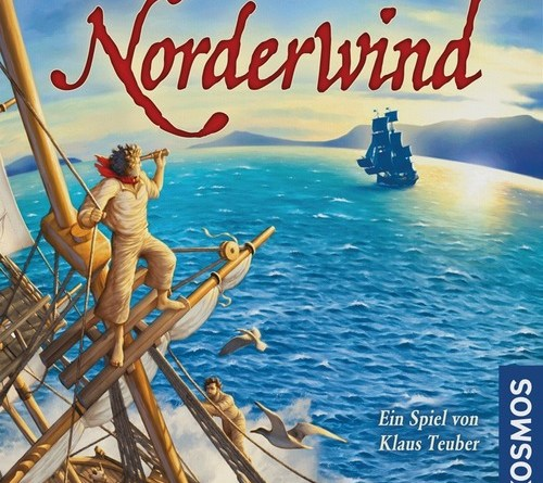 Portada de la edición alemana de norderwind
