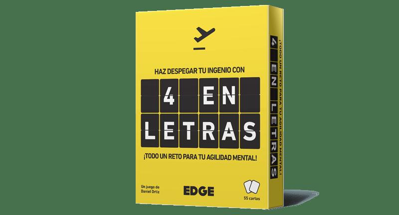 Juego de cartas 4 Letras de Edge