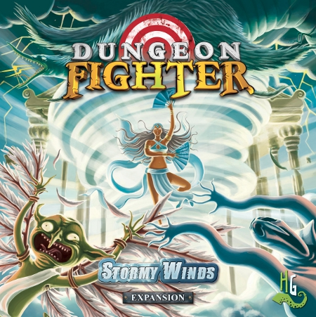 Portada de la expansion de Dungeon Fighter Stormy Wind