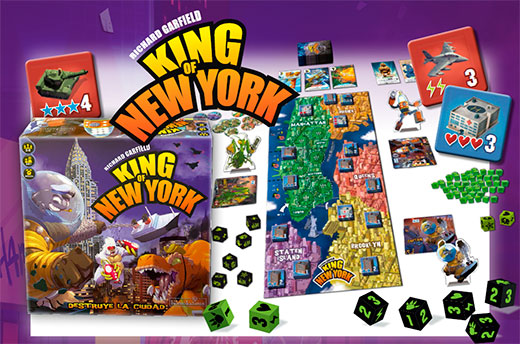 Componentes de King of New York