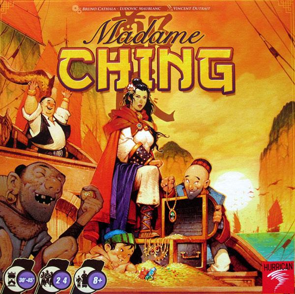 Portada de Madame Ching Concurso Ludonoticias