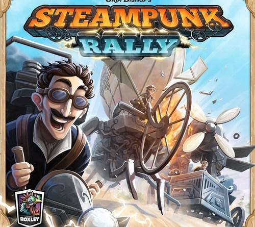 Portada de Steampunk Rally