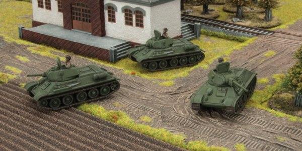 Battlefront presenta el set T-34 obr 1940 para Flames of War