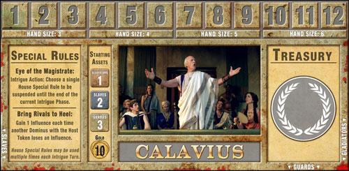 casa calavius de Spartacus The Shadow of death