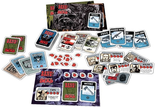 Bang the walking dead components