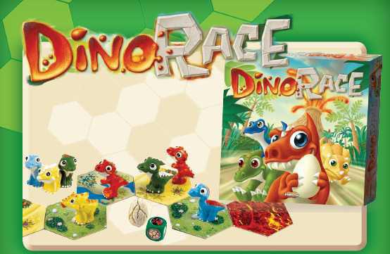 Edición de Dino Race en Castellano de Devir