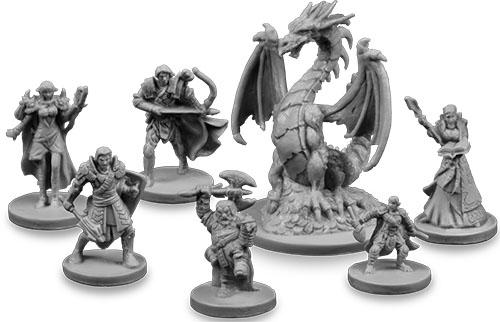 Miniaturas de la cuarta edición de Drakon
