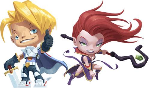 Heroes de Loony Quest