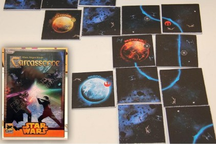 Carcassonne Star Wars Componentes