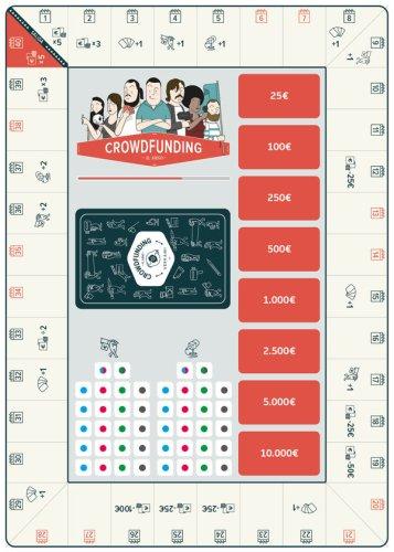 Crowdfunding, el juego tablero