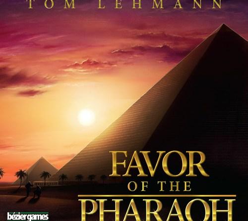 Portada de Favor of the Pharaon