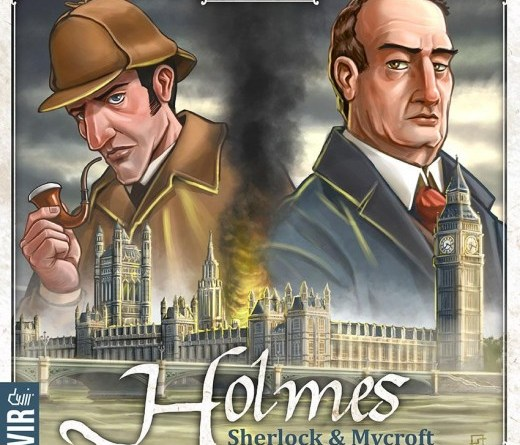 Portada de Holmes: Sherlock and Mycroft