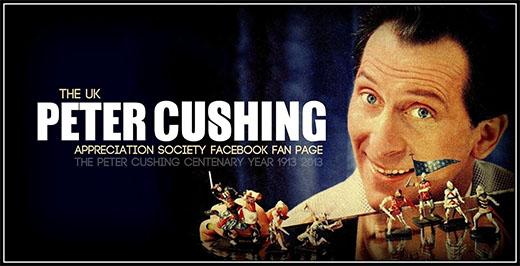 Peter Cushing y su afición a las miniaturas
