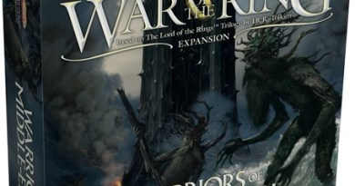 Portada de War of the ring warriors of the middle earth
