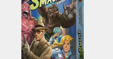 Portada de de ciencia ficción por partida doble la tercera expansión de smash up