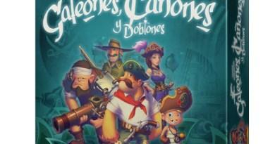 Portada de Galeones Cañones y Doblones