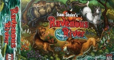 Portada de Ravenous River