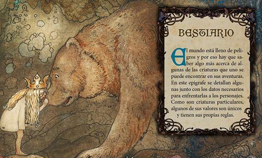 Ilustración del juego de rol Magissa