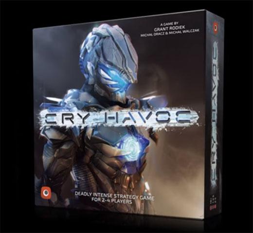Portada de Cry havock de Portal Games