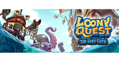 Imagen promocional de Loony Quest The lost City