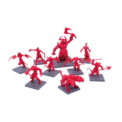 Miniaturas de de The Infernal Crypts