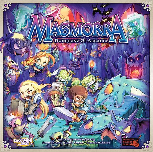 Portada de Masmorra Dungeons of arcadia