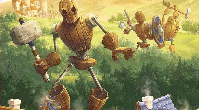 Fragmento de la portada de Meeple War