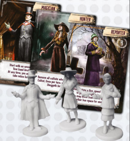 Investigadores de Pandemic Reign of Cthulhu