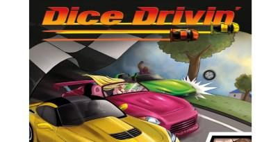Fragmento de la portada de Dice Drivin