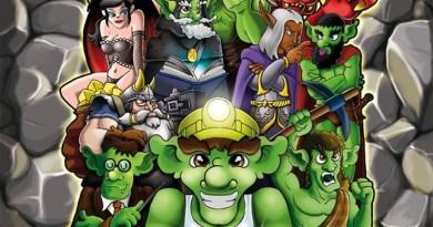 Ilustración de Goblins en la mina