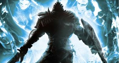 Arte de la portada de Dark Souls
