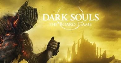 Arte de la portada del juego de mesa de Dark Souls