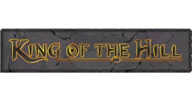 logotipo de king of the hill