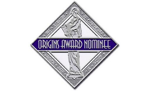 Logotipo de los nominados a los origins Award 2016