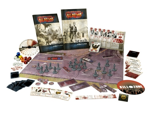 Componentes de The walking dead All Out War