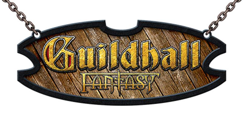 logotipo de Guildhall fantasy