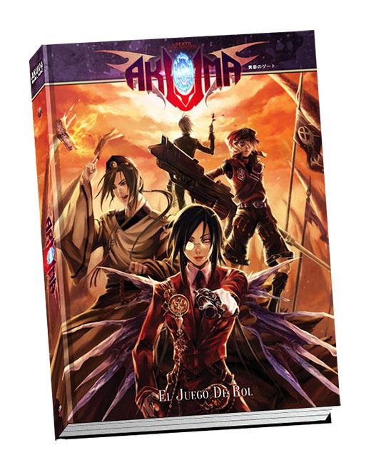 portada juegos de rol akuma