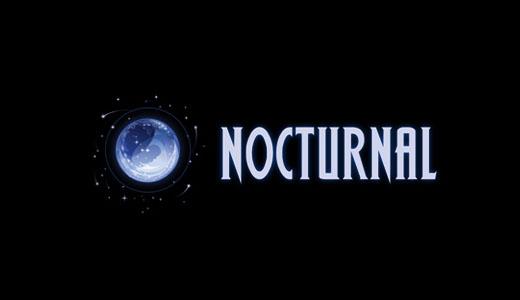 logotipo de nocturnal media